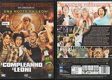 UN COMPLEANNO DA LEONI - DVD (USATO EX RENTAL)