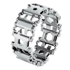 29 in 1 Multi-Tool Stainless Steel Survival Bracelet for Outdoor Camping Hiking