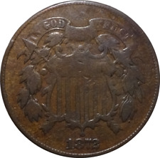 1872 Two Cent Piece - Key Date