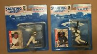 FRANK THOMAS ALBERT BELLE (2) 1997 STARTING LINEUP FIGURES CHICAGO WHITE SOX