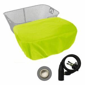 XL-Regenhülle mit Diebstahlschutz für Fahrradkörbe - CityTurtle XL AntiTheft- Ne