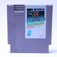 Nintendo NES - Rad Racer - Cleaned, Tested & Working