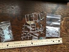 Model Aircraft Clear Plastic Assorted Parts