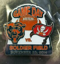 CHICAGO BEARS VS Tampa Bay Buccaneers  GAME DAY PIN  11/23/14 BRAND NEW NFL PIN