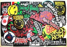 WHOLESALE Lot 50 Punk Hard Rock Music Band Collectible Embroidery Iron patch #2