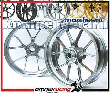 "Marchesini Pair Wheels Motard - Rear 5,40"" Silver KTM 450 SMR 2015"