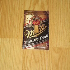 CLASSIC VINTAGE MGD MILLER GENUINE DRAFT LIGHT SWITCH COVER PLATE