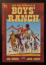 Kid Cowboys of Boys' Ranch HC Hardcover Marvel Joe Simon Jack Kirby Rare & OOP