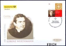 BRD 2008: Lorenz Werthmann! Post-FDC der Nr. 2697 mit dem Berliner Stempel! 1901