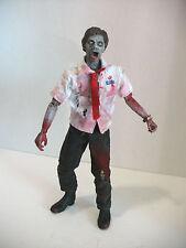 1/6 scale 12 '' custom   walking dawn dead    zombie.dave