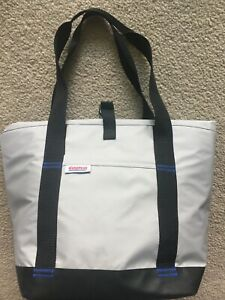 Nice Costco Extra Large Cooler Insulated Bag Tote Grocery Gray / Black Flexible