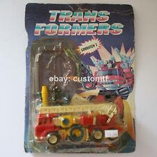"""RARE Vintage KO """"Generation 3 Inferno"""" G1 Transformers Variation *13"""