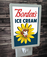 "Borden's Ice Cream Advertisement 4x6"" Photo Night Light"