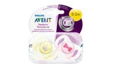Philips Avent Baby Newborn Orthodontic Pacifier 2 Pack...