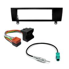 Mascherina + Cavi ISO e Antenna per Autoradio 1-DIN BMW Serie 1 E81 E82 E87 E88