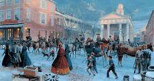 Mort Kunstler After the Snow Limited Edition Civil War Print S/N