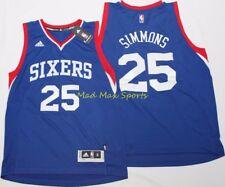 BEN SIMMONS Philadelphia Sixers 76ERS Adidas THROWBACK Swingman Jersey Size  L 326ee471b