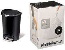 simplehuman 50 Litre Semi-Round Trash Can