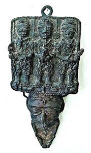Antique African BENIN Bronze sculpture