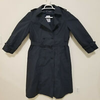 Military Coat All Weather Women's Blue Air Force w/ Removable Liner Size 16 Reg