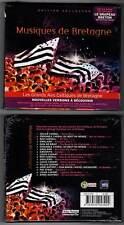 MUSIQUES DE BRETAGNE (CD) Gwalarn,Red Cardell,Servat,Auffret 2011 NEUF