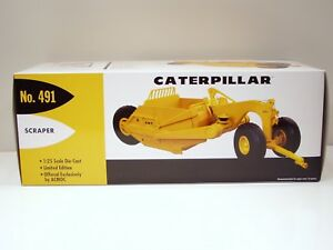 Caterpillar 491 Scraper - 1/25 - First Gear #49-0175 - Brand New