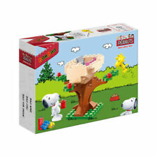 BanBao Snoopy & Woodstock Treehouse Block Set #7510 - Peanuts Collection