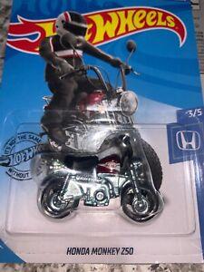 Hot Wheels Honda Monkey Z50 [Red] - New/Sealed/VHTF