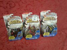 Lot of 3 Transformer Beast Hunters Prime Starscream Trailcutter hardshell gift