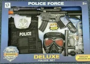 Dress Up Ultimate All-in-One Police Officer Role Play Set for Kids TOY GUN DELUX