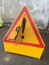 Panneau de signalisation routière mobile en aluminium