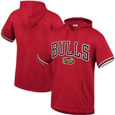 Mitchell & Ness NBA Youth (8-20) Chicago Bulls Short Sleeve French Terry Hoodie