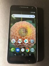 New listing Moto G4 Play (Black) - Factory Unlocked. Comes with Case and Removable Grip