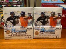 2020 Bowman Chrome Two (2) Box Random Team Break - 4 autos - Read Description