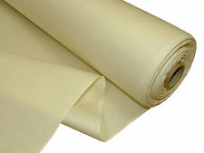 BLACKOUT CURTAIN LINING FABRIC - 3 PASS CREAM - THERMAL MATERIAL SOLD PER METRE