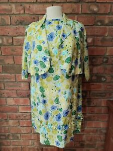 Vintage Fabric 1950s / 1960s Remake Two Piece Dress and Jacket