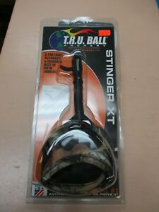 TRUBall Archery Camo Xtra Tough Jaw Stinger XT Hook+Loop Release Size X-Large