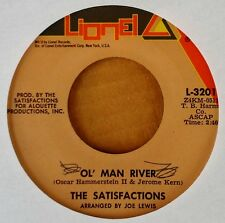 GROUP HARMONY - SATISFACTIONS - OL' MAN RIVER b/w THIS BITTER EARTH - LIONEL 45