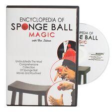 Encyclopedia of Sponge Ball Magic - DVD Combo With Your Choice of Sponge Balls!