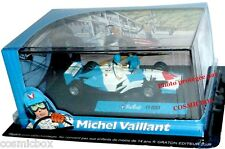MICHEL VAILLANT voiture de course F1 2003 formule 1 diorama et figurines figure