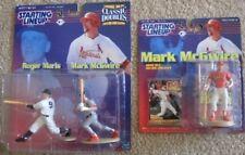 1999 99 Starting Lineup Mark McGwire Lot St. Louis Cardinals Roger Maris
