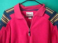 Woolrich Rugged Outdoor Wear Red Men's Size  L Pullover Fleece Shirt Jacket