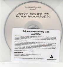 (DD89) Alice Gun / Rob Marr, split single - 2012 DJ CD