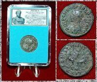 Ancient Roman Empire Coin Of Probus Sol Driving Quadriga On Reverse