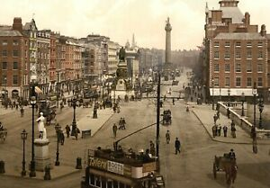 Modern Postcard of Dublin, Ireland, 1904 - Ulysses, James Joyce