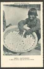 Brazil Postcard Matto Grosso Turtle Eggs Indien Caraja L@@K