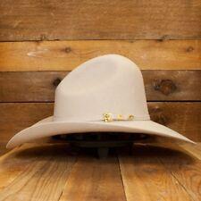 """GUS ~Silver Belly~ 3X Wool Felt HAT~ 4.5"""" Brim RODEO Cowboy Western Lt Grey Gray"""