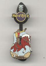 Hard Rock Cafe Hollywood Florida Hotel Pow Wow Rodeo Guitar 2009 Pin