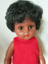 """FAB RARE VINTAGE JOINTED 13"""" EVERGREEN JOINTED VINYL & PLASTIC DOLL HONG KONG"""