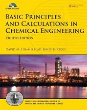INTERNATIONAL EIDTION Basic Principles And Calculations In Chemical Engineering